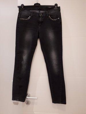 schwarze slimfit Jeans von Sisley W30 L30