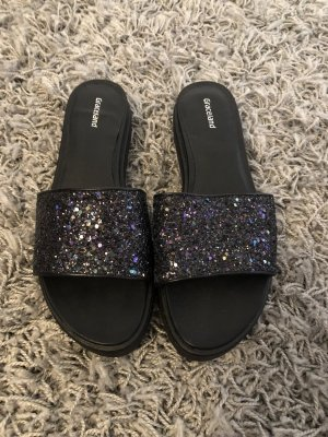 Deichmann Pantofola da casa nero