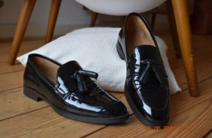 Gant Slippers black leather