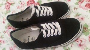 Sneakers wit-zwart