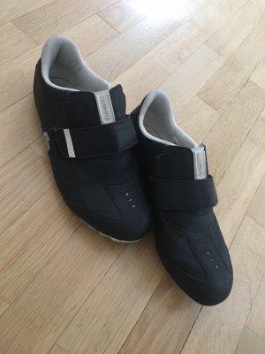 Lacoste Sneaker con strappi nero-bianco