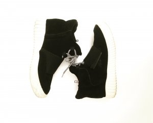 Topshop Velcro Sneakers black-white