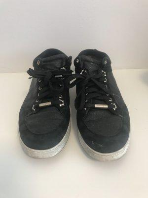 Schwarze sneaker von Jimmy Choo