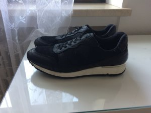 Lace-Up Sneaker black imitation leather