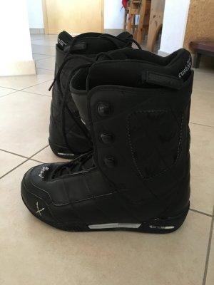 Schwarze Snowboardschuhe HEAD kingpin