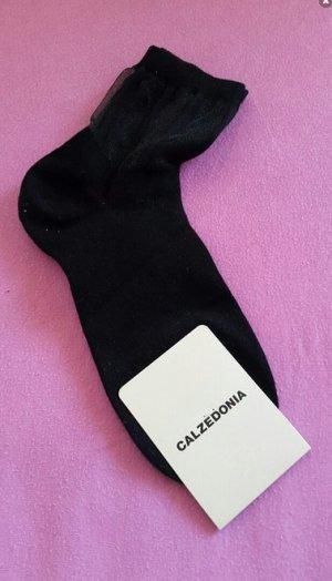 Schwarze Socken von Calzedonia