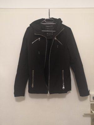 Calvin Klein Softshelljack zwart
