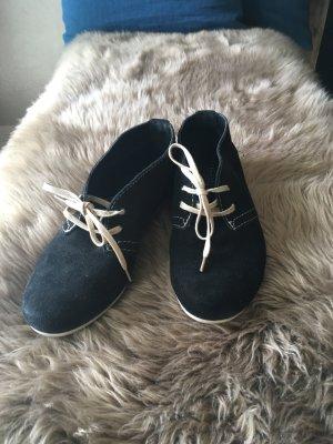 5th Avenue Chaussures à lacets noir-crème
