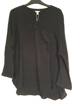 Esprit Oversized blouse zwart