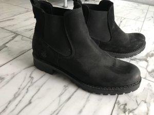 Sommerkind Slip-on Booties black leather