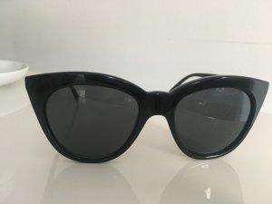 Schwarze Sonnenbrille LeSpecs