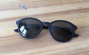 Schwarze Sonnenbrille Retro Style