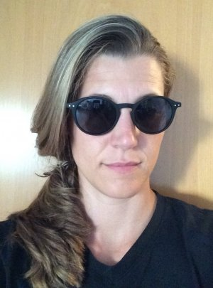 Schwarze Sonnenbrille von See Concept