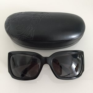 Schwarze Sonnenbrille von Versace