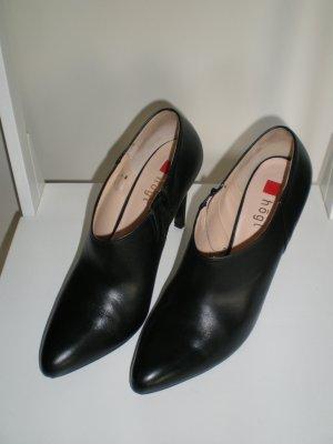 Högl Chaussure à talons carrés noir cuir