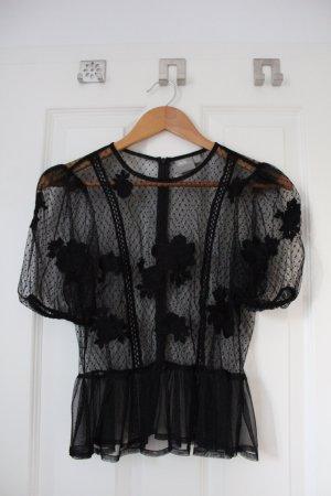 Asos Lace Top black