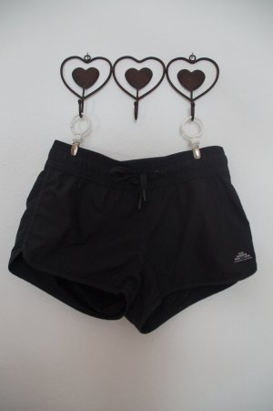 schwarze Sport Shorts