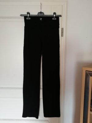 Schwarze Sport/Yogahose in Größe 36