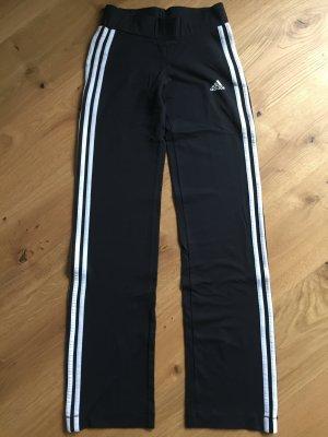 Schwarze Sporthose von Adidas