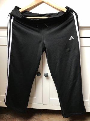 Schwarze Sporthose von Adidas in Größe M