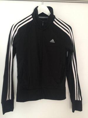 Schwarze Sportjacke von Adidas