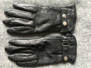 Esprit Gloves black leather