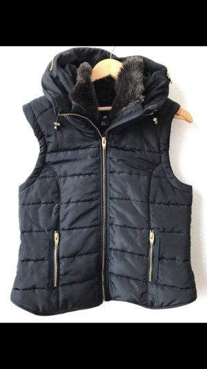 H&M Quilted Gilet black