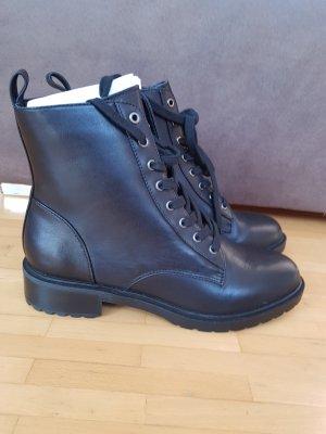 schwarze Steve Madden Ankleboots