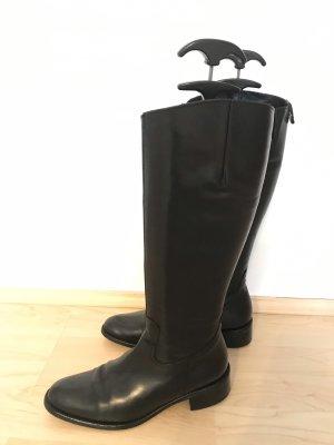 nouveau concept 10222 e0a80 Donna Carolina Bottes à talon noir