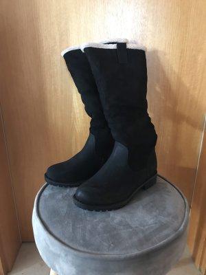 Jackboots black-natural white