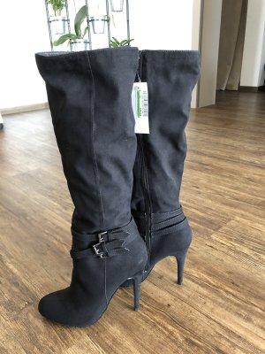 Barratts Laarzen met hak zwart