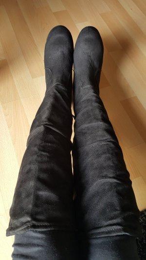 Schwarze Stiefel,.Gr.38