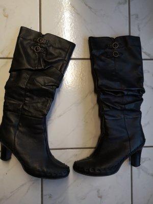 Schwarze Stiefel Gr. 40