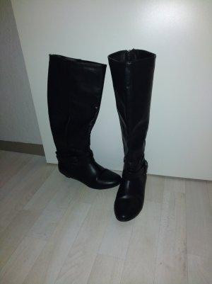 Schwarze Stiefel Größe 37 Justfab