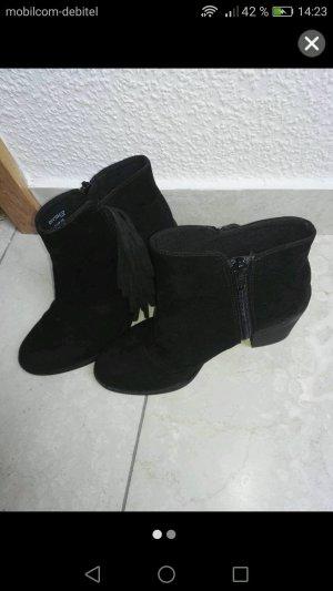 Schwarze Stiefel H&M
