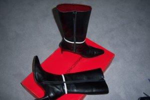 Schwarze Stiefel, halbhoch von LOUIS NORMAN