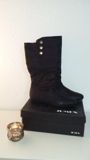 Schwarze Stiefel Jumex Größe 39