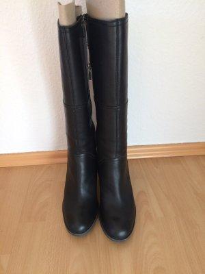 Schwarze Stiefel mit Absatz von Timberland Earthkeepers