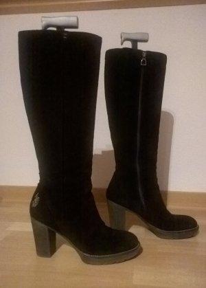 Schwarze Stiefel, top Zustand, Gr. 38, von U.S. Polo Assn.