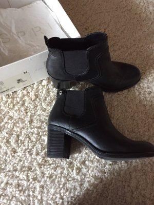 Schwarze Stiefel von Esprit Größe 39