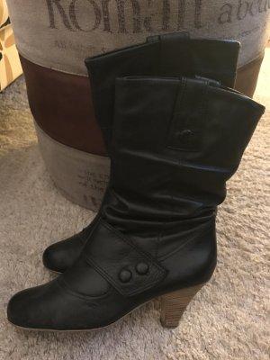 Schwarze Stiefel von Görtz 17 in Gr. 40