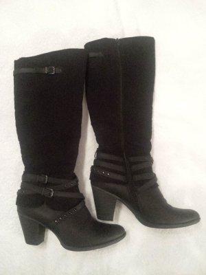 schwarze Stiefel von Graceland, Gr. 39