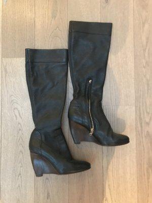 Schwarze Stiefel von Hugo Boss