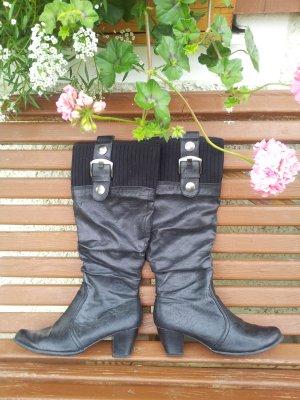 Schwarze Stiefel von Marco Tozzi
