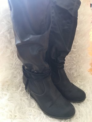 Schwarze Stiefel von Tom Tailor