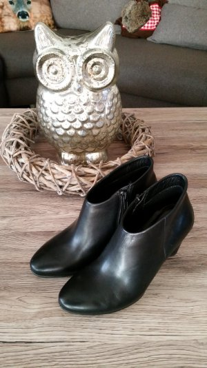 Schwarze Stiefelette Ancle Boots v. ECCO Gr. 37 NEUWERTIG