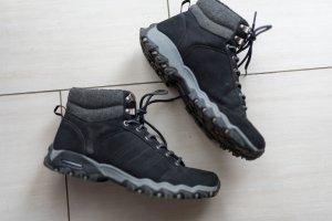 schwarze Stiefelette Boots Schnürstiefelette 40