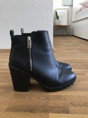 Schwarze Stiefelette von H&M