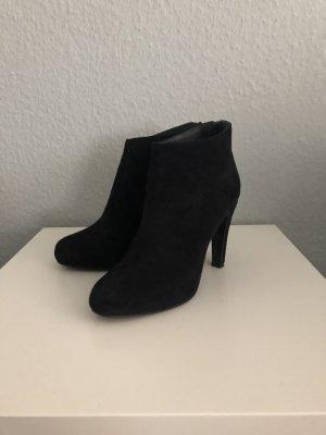 Schwarze Stiefelette von Prego, Größe 38, Ankleboots
