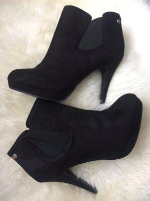 Botas deslizantes negro Imitación de cuero